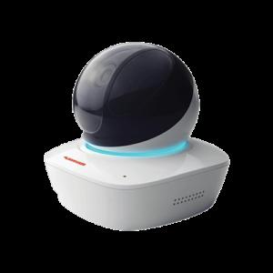 Vidéosurveillance avec une caméra haute définition, micro intégré et détecteur de présence
